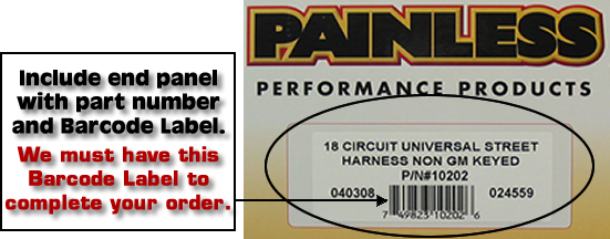 EndPanel1 22 circuit classic customizable 1975 & later jeep cj painless wiring harness 10106 at bakdesigns.co