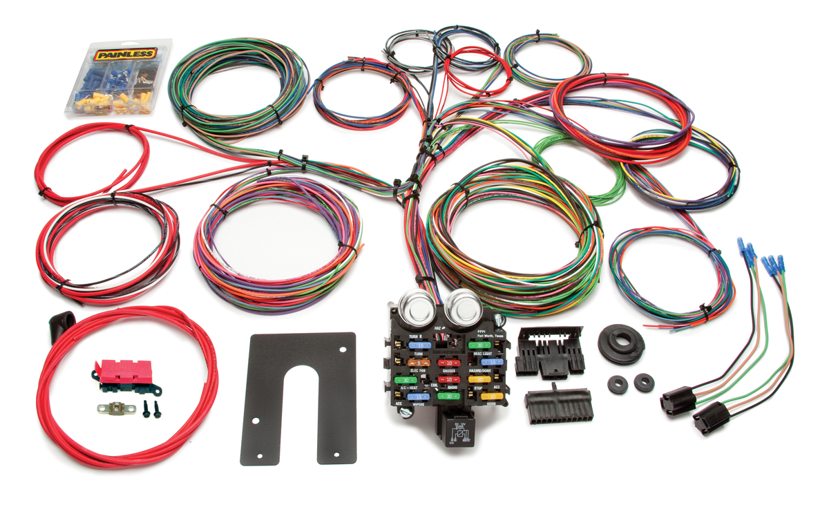 21 Circuit Clic Customizable Pickup Chis Harness - Key In Dash ... on radio harness, gm wiring alternator, obd2 to obd1 jumper harness, gm wiring connectors, gm wiring gauge, gm alternator harness,