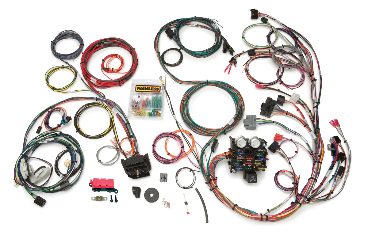 Incredible 23 Circuit Direct Fit Jeep Yj Harness Painless Performance Wiring 101 Cranwise Assnl