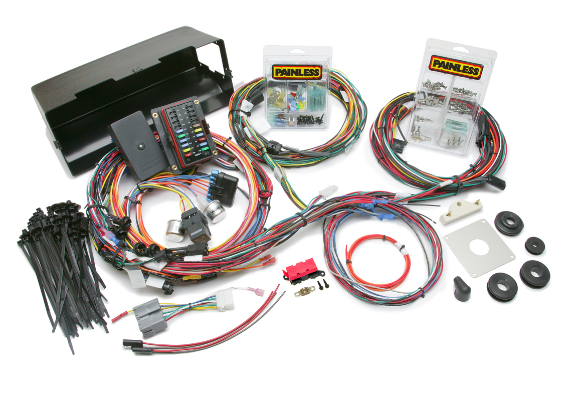 28 Circuit Direct Fit 1966-77 Bronco Harness w/o switches | Painless  Performance | 1981 Cj7 Duraspark Ii Wiring Harness Painless |  | Painless Wiring