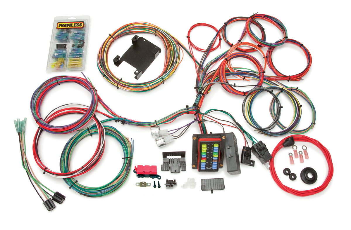 26 circuit customizable weatherproof off road chassis harness 18 Circuit Universal Wiring Harness