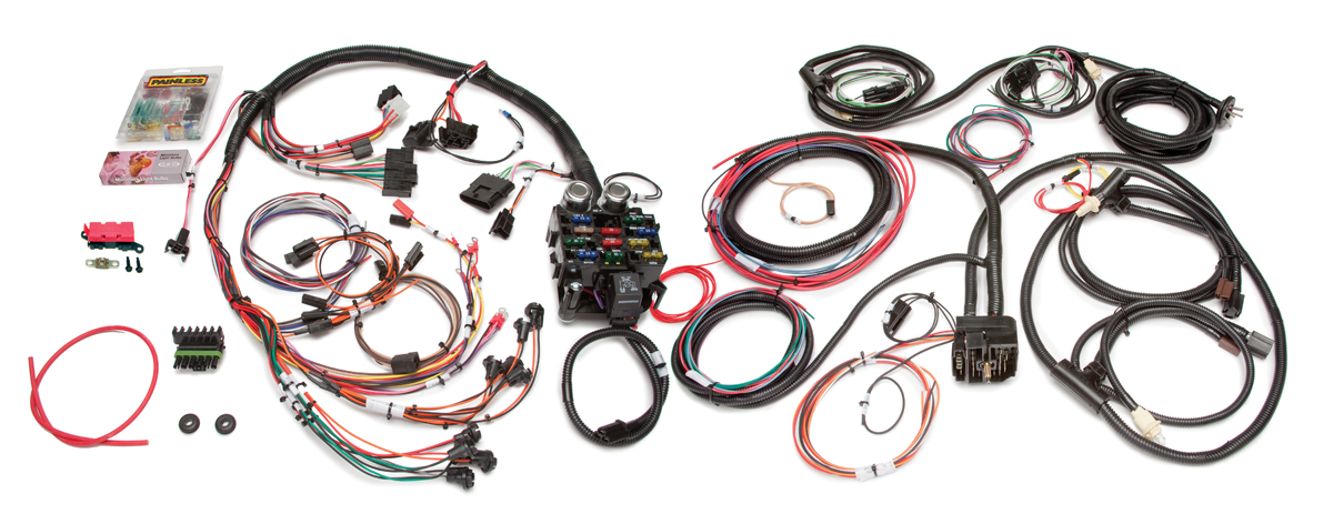 10150 21 circuit direct fit jeep cj harness painless performance