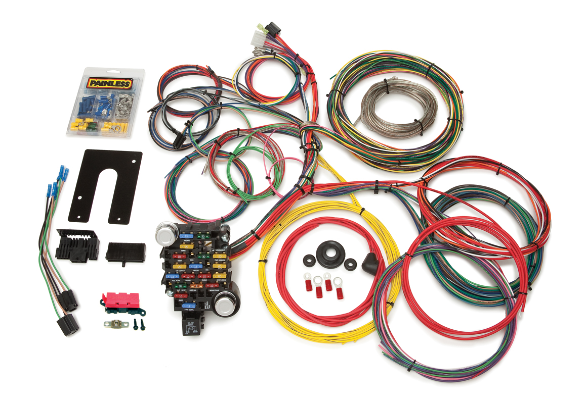 28 Circuit Clic-Plus Customizable Pickup Chis Harness -GM ... on gm alternator harness, radio harness, gm wiring alternator, obd2 to obd1 jumper harness, gm wiring connectors, gm wiring gauge,