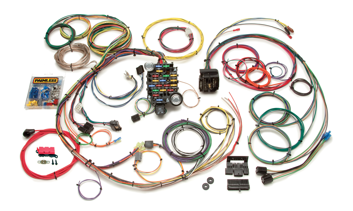gm chassis harnesses painless performance Painless Wiring Diagram Chevy camaro