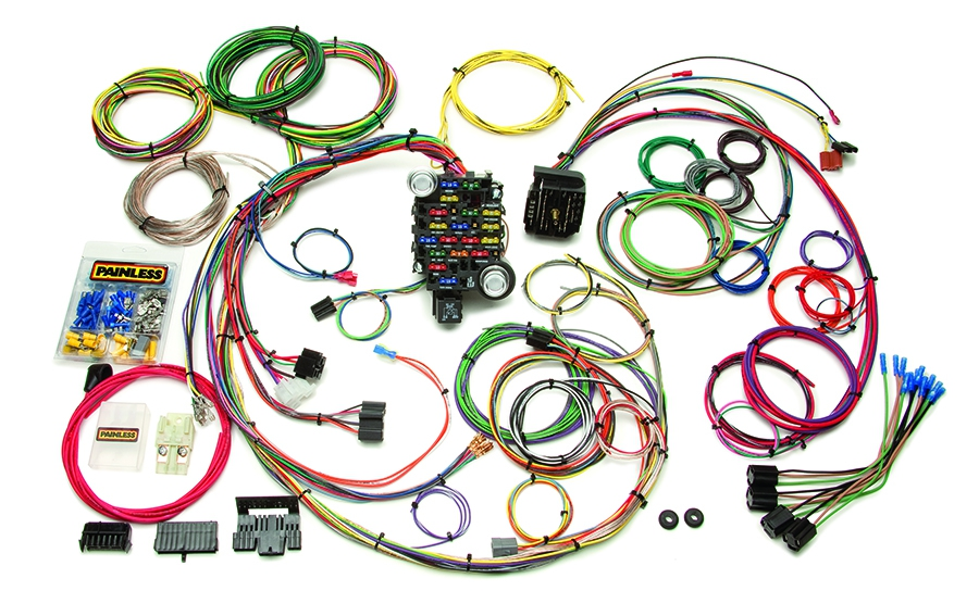 25 Circuit Classic-Plus Customizable 1969-74 GM Muscle Car Chassis Harness By Painless Performance