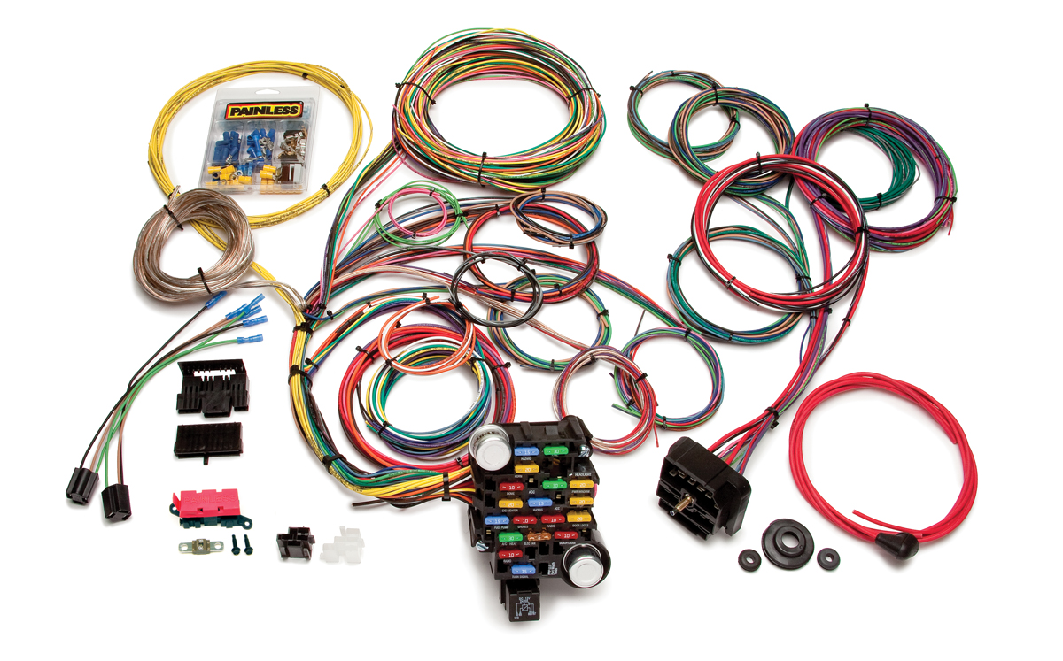 28 circuit classic plus customizable muscle car harness painless 18 Circuit Universal Wiring Harness