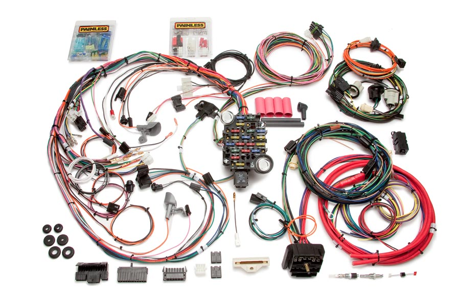 26 Circuit Direct Fit 1970-73 Camaro Harness | Painless ... on painless switch panel, painless fuse box, painless lt1 harness,