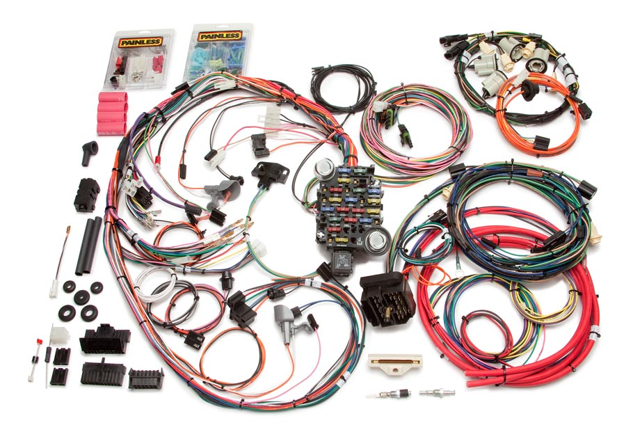 26 circuit direct fit 1974-77 camaro harness by painless performance