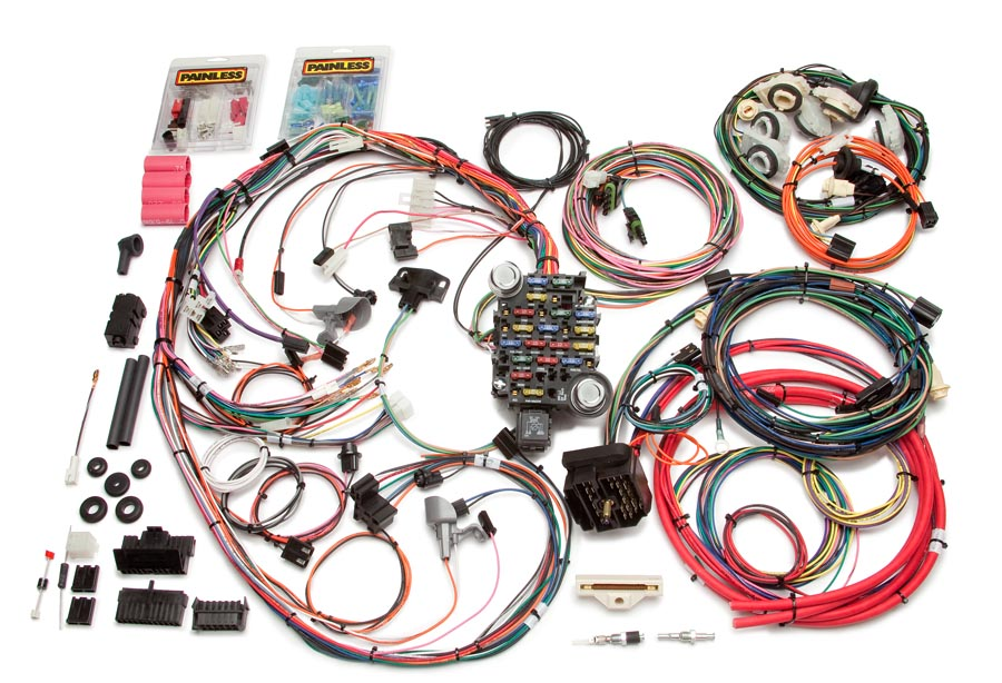 26 circuit direct fit 1978-81 camaro harness by painless performance