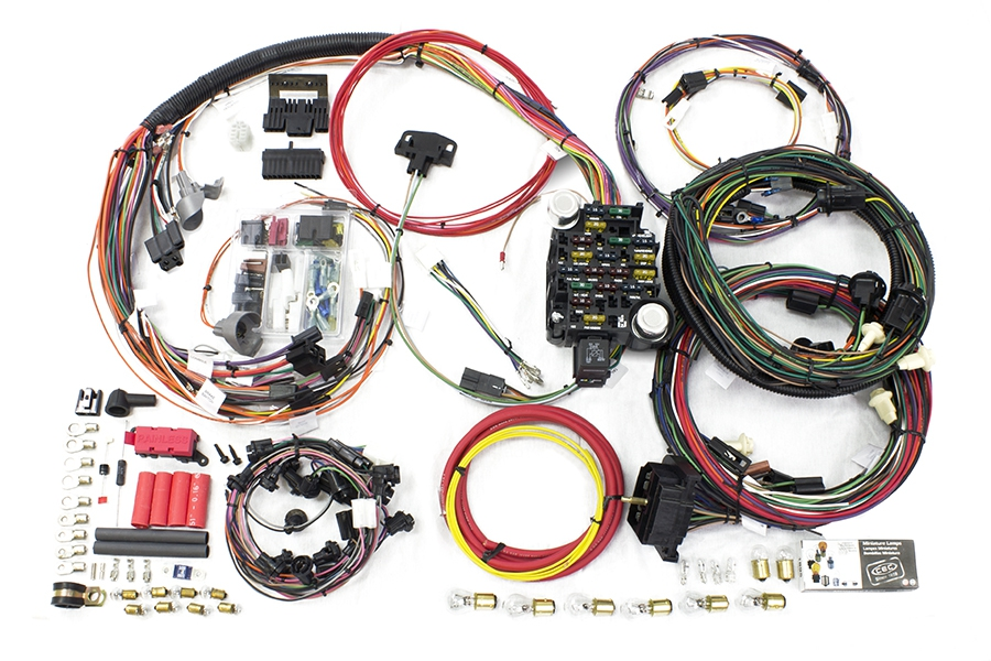 26 circuit direct fit 1969 chevelle malibu harness painless rh painlessperformance com My Race Car Wiring Diagrams Painless Wiring Installation Manual