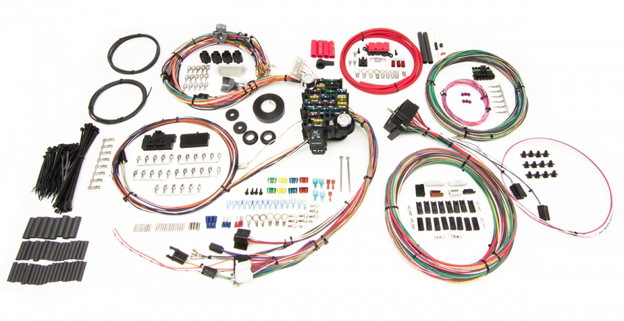 Classic-Plus Customizable 1973-1987 GM Truck Chassis Harness - 27 Circuits By Painless Performance