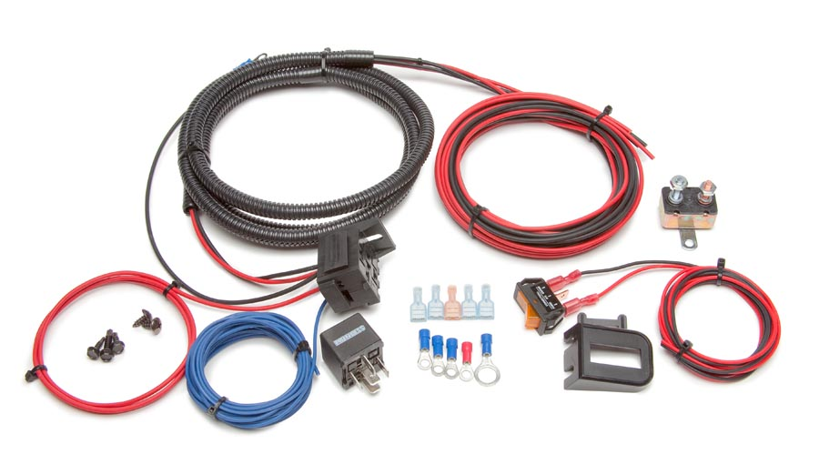 Auxiliary Light Relay Kit w/Switch By Painless Performance