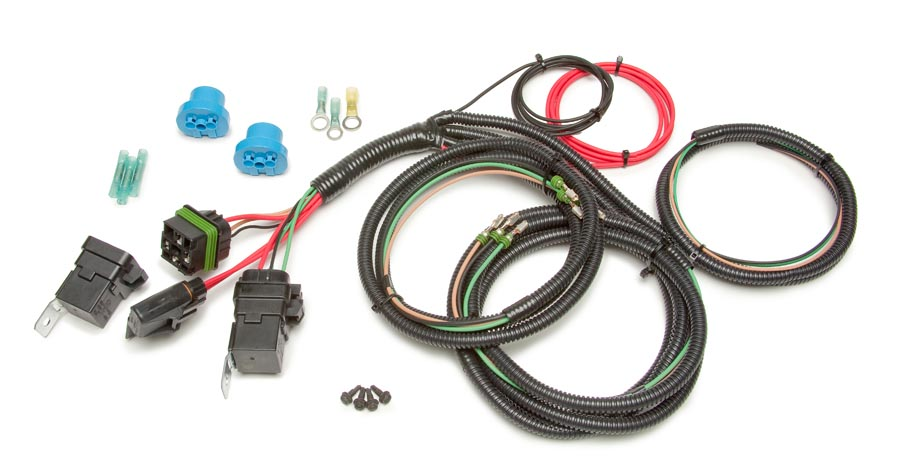 9004 & 9007 headlight bulb conversion harness by painless performance