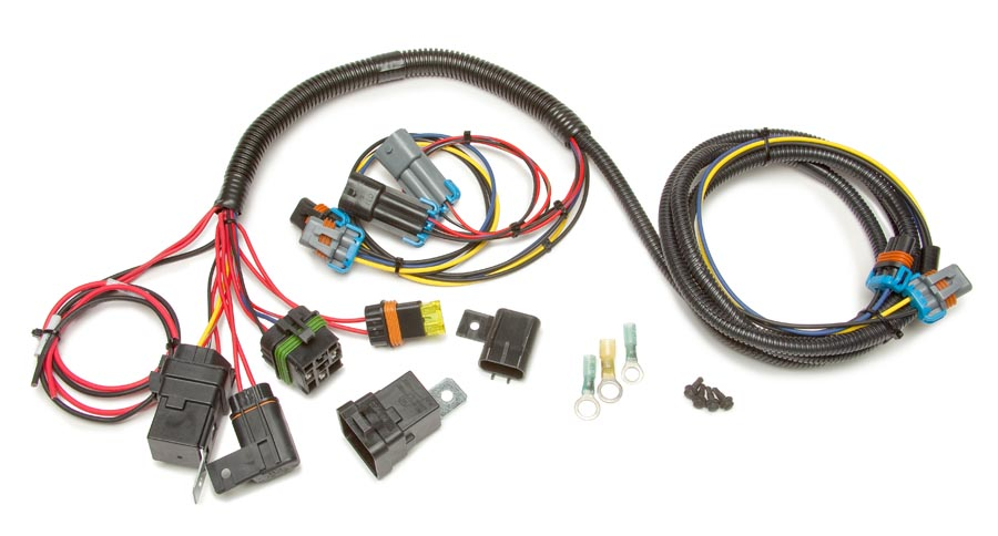 30817 h 4 headlight relay conversion harness painless performance