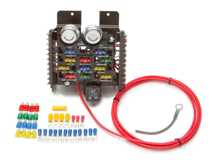 race pro street pre wired 16 circuit fuse block painless performance rh painlessperformance com