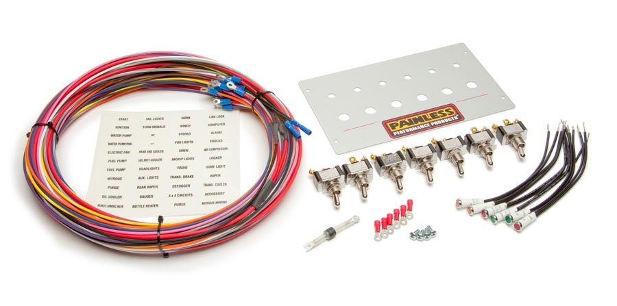 Mustang Power Panel for '87-'93 (Toggle) By Painless Performance