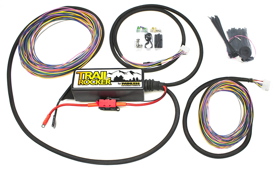 Trail Rocker Relay Center 2007-2018 Jeep Wrangler JK (w/o Switches) (8 Relay) By Painless Performance