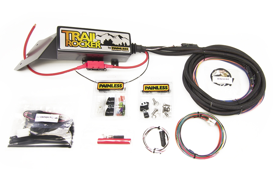 1976-86 Jeep CJ - Trail Rocker Accessory Control System (w/o Switches) By Painless Performance