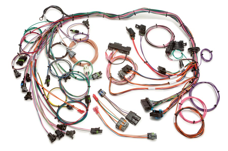 89 camaro schematic 1985 89 gm v8 tpi harness  maf  std length painless performance  1985 89 gm v8 tpi harness  maf  std