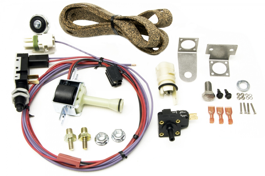 200-4r transmission torque converter lock-up kit by painless performance