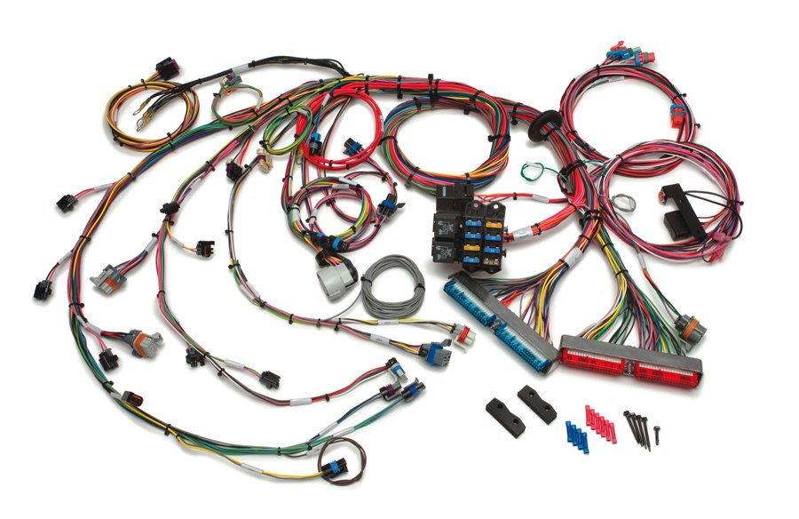 1999-2006 GM Gen III 4.8/5.3/6.0L EFI Harness Extra Length - Mechanical TB By Painless Performance