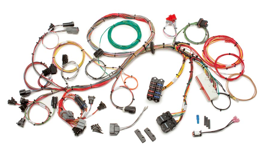 ford 1986 1995 5 0l fuel injection wiring harness std length 1986 mustang wiring harness connector diagram 1986 mustang wiring harness #5