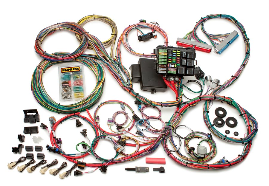 [SCHEMATICS_4ER]  1997-2004 GM LS1/LS6 Integrated EFI & Chassis Harness - Mechanical TB | Painless  Performance | 1984 Camaro Painless Wiring Harness |  | Painless Wiring