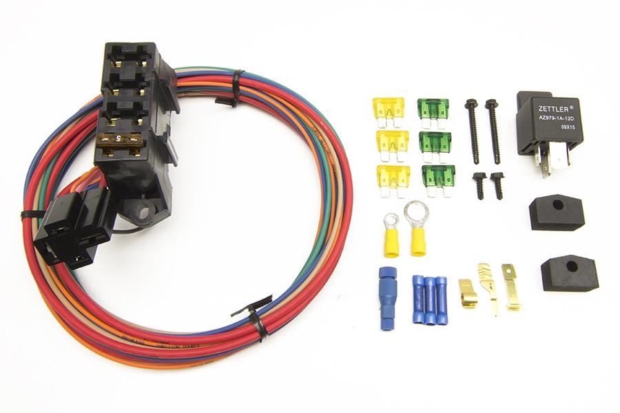CirKit Boss Auxiliary Fuse Block/7 Circuits/Weatherproof (3 ... on