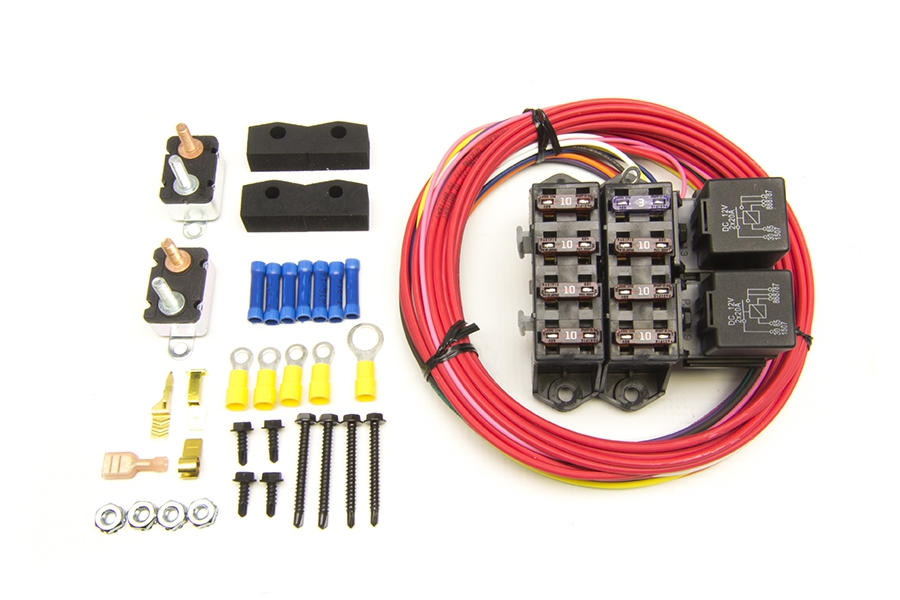 Auxiliary Light Relay Kit w/Switch | Painless Performance