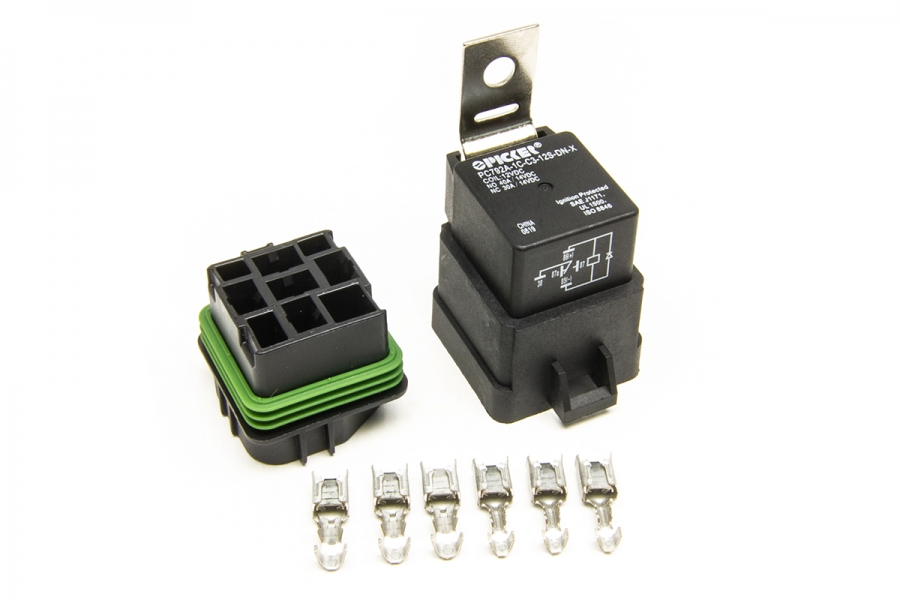 Weatherproof Relay, Base Seal, Terminal (35 amp) By Painless Performance